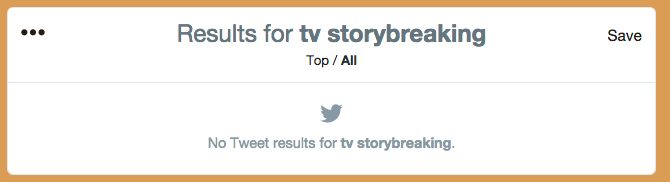 tv storybreaking twitter search