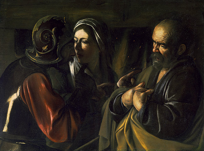 The Denial of St. Peter, by Caravaggio